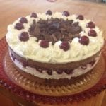 Chocolate forest cake